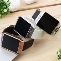 SmartWatch U9 - Smart Watch Bluetooth DZ09 Touch Screen - Jam Tan
