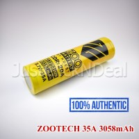Baterai 18650 Zootech KDEST 35A 3058mAh Authentic Original Oten