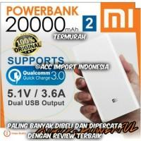 Powerbank Xiaomi 20000mah / 20000 mAh 100% ORIGINAL GARANSI suku