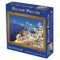 1000pcs Puzzle Gambar Lukisan Minyak Terkenal Ukuran 50x70cm Untuk