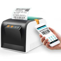 GPRINTER Thermal Label Printer Retail Bluetooth GP3100TU Black White