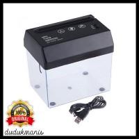 Mesin Penghancur Kertas Mini Alat Penghancur Kertas USB PER-202