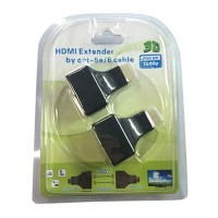 HDMI Extender via RJ45. HDMI Extender by cat-5e dan 6 cable suku