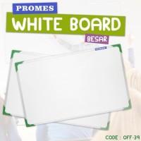 Papan Tulis Ukuran Besar White Board