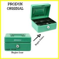 Cash Box 6 inch - Kotak Penyimpan Uang - Kotak Uang - Box Uang - Saf