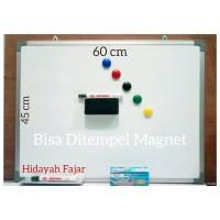 papan tulis - spidol - penghapus white board - magnet warna