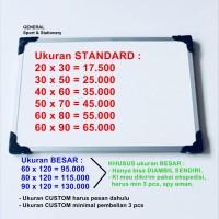 Papan Tulis White Board 60x90 Whiteboard