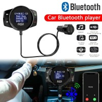 in Handsfree Transmitter Radio FM Wireless Bluetooth + Charger USB +