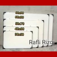 Papan tulis white board 32cm x 48 cm