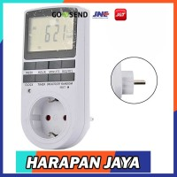 Digital Timer Stop Kontak Switch Programmable Timing Taffware KWE-TM02