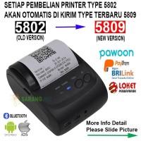 Mini Portable Bluetooth Thermal Receipt Printer Eppos -5802