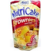 NUTRICAKE NUTRI CAKE BROWNIES INSTANT TANPA MIXER RASA KEJU CHEESE