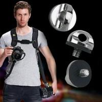 sekrup 1.4 inchi untuk strap kamera - Quick Release strap single