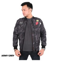 JAKET BOMBER TERBARU 2020 ZURREL JOINED ARMY