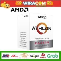 AMD Athlon 3000G (Radeon Vega 3) YD3000C6FHBOX AMD Athlon 3000G NEW