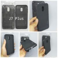 Case Kondom HP Slim Fit Samsung Galaxy J7 Plus Soft Fiber