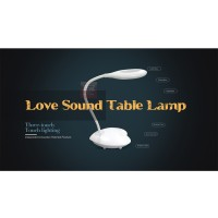 Lampu LED Meja Belajar Bluetooth Speaker Love Table, eye-protection