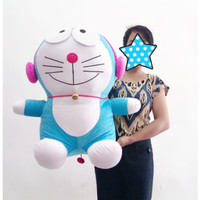 Boneka Doraemon Jumbo Headset - Doraemon Walkman Jumbo