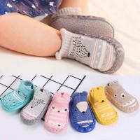 Tseloop P3 Sepatu Anak Bayi - Baby Prewalker Shoes Socks Anti Slip - tosca, 12cm