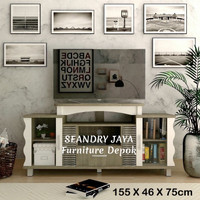 BUFET TV/RAK TV /MEJA TV/PROMO/Minimalis/ SEANDRY JAYA Furniture Depok
