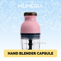 Hand Blender Capsule Cutter Quatre Portable Mini Juicer Food Processor