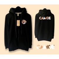 Jaket Camoe Premium Printed Signature X Cheeky Zipped Hoodie