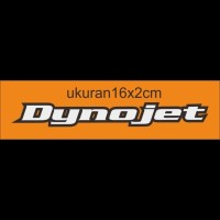 Cutting sticker motor logo dynojet