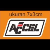 cutting sticker motor logo accel