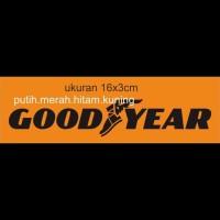 cutring sticker motor good year