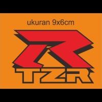 Cutting sticker motor logo yamaha TZR