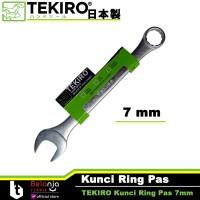 TEKIRO KUNCI RING PAS 7 MM - COMBINATION WRENCH 7 MM TEKIRO