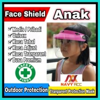 Face Shield Safety First - KACA TEBAL HELM APD KHUSUS ANAK