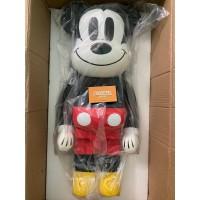 BEARBRICK 1000% Disney Mickey Mouse 2018 Version FIGURE Be@rbrick