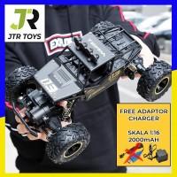 Mainan RC Mobil Rock Crawler 1:18 Off Road 2.4GHz 4WD