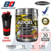 Muscletech Vapor X5 Next Gen 30 Serving BPOM PWO Vapor NextGen 30 Serv