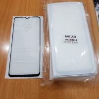 Samsung Galaxy A31 Tempered Glass Full Glue Full Lem 5D