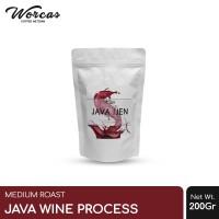 "WORCAS Kopi Arabica Java Ijen ""Wine Process"" 200 Gram Medium Roast"