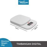 Timbangan Digital 2000g 0.1g   Digital Kitchen Scale