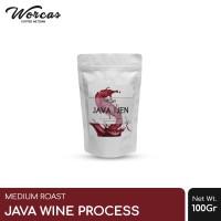"WORCAS Kopi Arabica Java Ijen ""Wine Process"" 100 Gram Medium Roast"