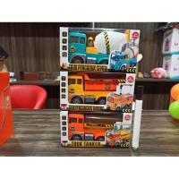 Mainan mobil truck konstruksi bumb go mobilan truk tanker