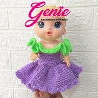 Baju boneka Baby Alive jumpsuit