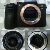 Sony Alpha 7 Mark III A7III A7 III Kit BUKAN A7 A7 II MULUS LIKE NEW