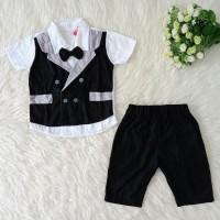 Baju Pesta Setelan Anak Laki Laki Tuxedo Rompi Jas Dasi 1 2 3 Tahun