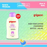 PIGEON BABY HAIR LOTION CHAMOMILE 200 ML   Rambut Bayi 200ml