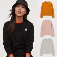H&M x disney sweatshirt (mickey / love )