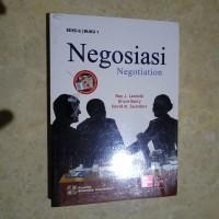 Original | Buku NEGOSIASI Negotiation | Edisi 6 buku 1 | Roy J Lewicki