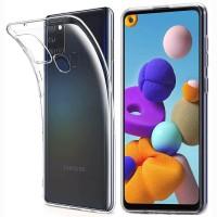 Slim TPU Case Samsung Galaxy A21S - Original Clear Soft Bening Cover