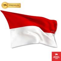 Bendera Indonesia Merah Putih 225cm x 150cm (PREMIUM)