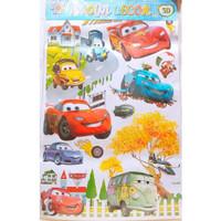 Wallpaper Stiker Dekorasi Tembok Kamar Anak Frozen Hellokitty Cars dll