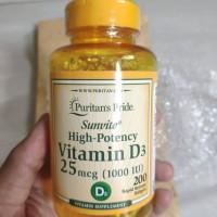 puritan's puritan pride d3 vit d3 vitamin d3 1000iu 1000 iu 200 sg
